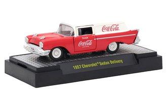 1:64 Coca-Cola 1957 Chevrolet Sedan Delivery (Red/White)