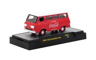 1:64 Coca-Cola 1965 Ford Econoline Van (Red/White)