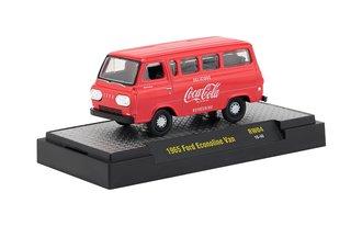 1:64 Coca-Cola 1965 Ford Econoline Van (Red)
