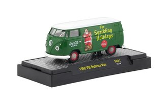"1:64 Coca-Cola 1960 VW Delivery Van ""For Sparkling Holidays"" (Green)"