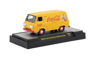 1:64 Coca-Cola 1965 Ford Econoline Delivery Van (Yellow)