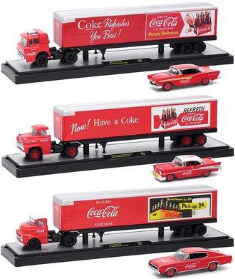"1:64 Coca-Cola Auto-Haulers - Release 50B01 (Set of 3) ""Billboards"""
