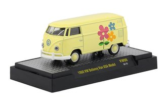 """1:64 1960 Volkswagen Delivery Van USA Model """"Flowers"""""""