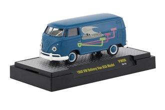 """1:64 1960 Volkswagen Delivery Van USA Model """"Typewriter"""""""