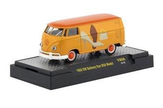 """1:64 1960 Volkswagen Delivery Van USA Model """"Shoes"""""""