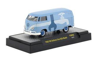 """1:64 1960 Volkswagen Delivery Van USA Model """"Plumber"""""""