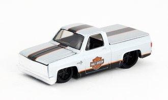 "1:64 H-D Custom - 1987 Chevy 1500 Pickup ""Harley-Davidson"""