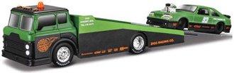 1:64 Elite Transport 2018 - Ramp Truck w/1993 Ford SVT Cobra (Green/Black)