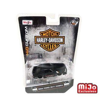 1:64 Harley-Davidson Custom 1993 Ford SVT Cobra (Matte Black)