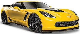 1:24 2015 Corvette Z06 (Yellow)