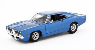 1:24 1969 Dodge Charger R/T (Blue)