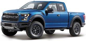 1:24 2017 Ford F-150 Raptor (Blue)