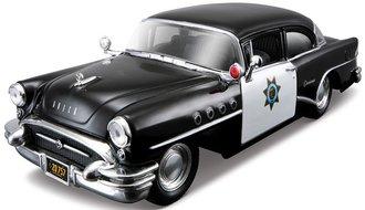 "1955 Buick Century Police Car ""California"" (Black/White)"