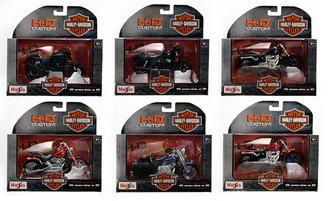 Harley-Davidson 1:18 Motorcycles Series 35 (Set of 6)