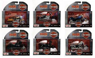 Harley-Davidson 1:18 Motorcycles Series 36 (Set of 6)