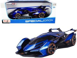 1:18 Lamborghini V12 Vision Gran Turismo (Blue)