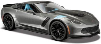 1:24 2017 Corvette Grand Sport (Gray Metallic)