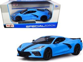 1:24 2020 Chevrolet Corvette Stingray Coupe (Blue)