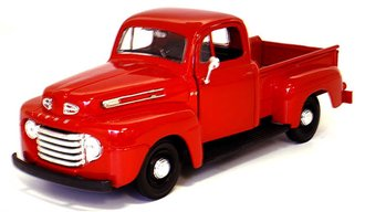 1948 Ford F-1 Pickup (Red)