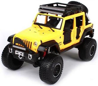 1:24 Off-Road 2015 Jeep Wrangler Unlimited (Yellow)