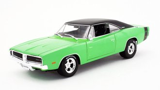 1:18 1969 Dodge Charger R/T (Green)