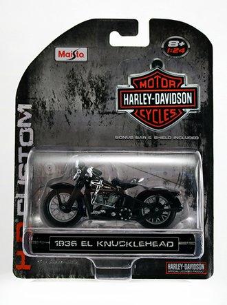 Harley-Davidson 1936 El Knucklehead (Black)