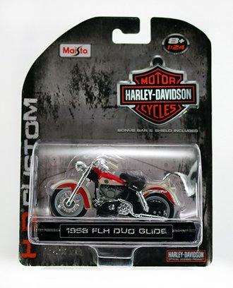 Harley-Davidson 1958 FLH DUO Glide (Red)