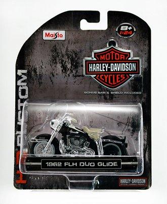 Harley-Davidson 1962 FLH DUO Glide (Black)