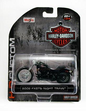 Harley-Davidson 2002 FXSTB Night Train (Black)