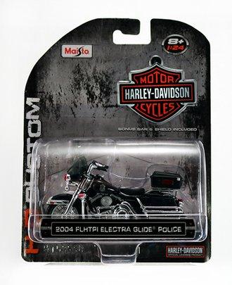 Harley-Davidson 2004 FLHTPI Electra Glide Police (Black)
