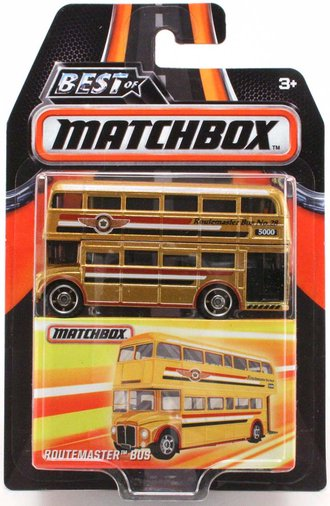 Routemaster Bus (Gold)