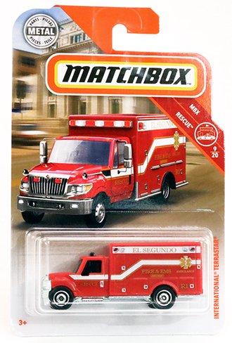 International TerraStar Ambulance (Red)