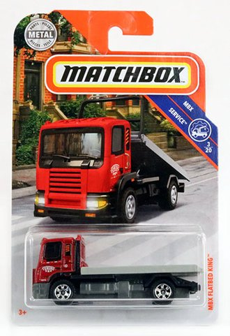 MBX Flatbed King Rollback Truck