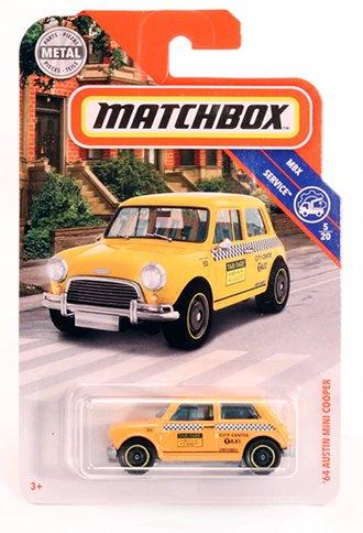 1964 Austin Mini Cooper Taxi (Yellow)