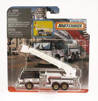 Pierce Velocity Aerial Platform Fire Truck (White)