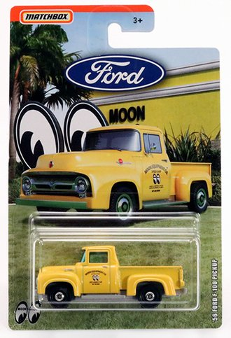 "1956 Ford F-100 Pickup ""Moon Eyes"" (Yellow)"