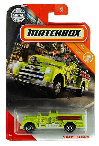 Seagrave Fire Engine (Yellow)