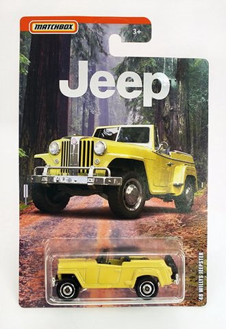 1948 Willys Jeepster Convertible (Yellow)