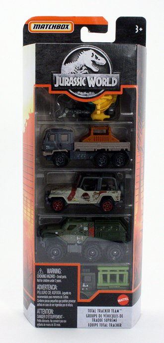 Jurassic Park Total Tracker Team 5-Pack