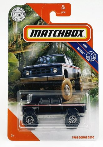1968 Dodge D200 Pickup (Black)