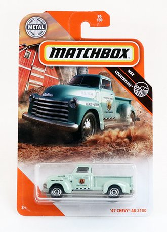 """1947 Chevy AD 3100 Pickup """"National Park Forest Ranger"""" (Green)"""