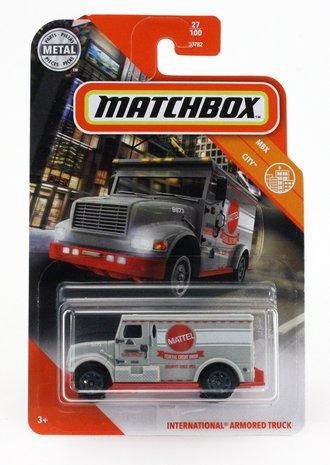 "International Armored Truck ""Mattel"" (Grey)"