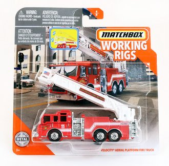 Pierce Velocity Aerial Platform Fire Truck (Red/White)