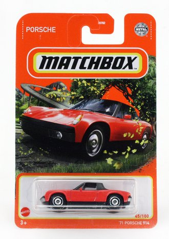 1971 Porsche 914 (Red)