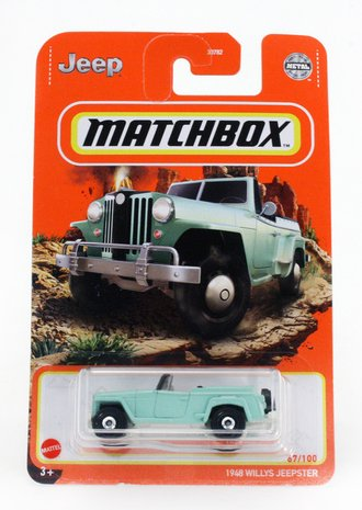 1948 Willys Jeepster (Mint Green)