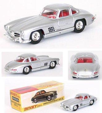 1955 Mercedes 300 Gullwing (Silver)