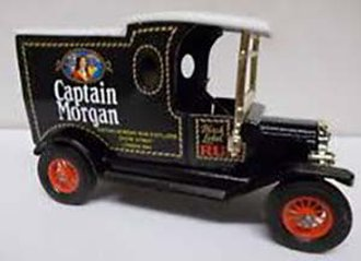 """1912 Ford Model T Van """"Captain Morgan Rum"""" (Blue/White/Black)"""