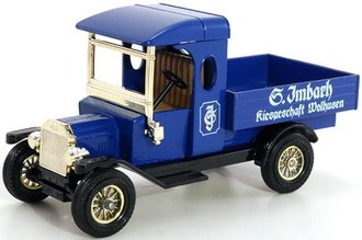 """1912 Ford Model T Pickup """"Imbach""""  (Blue/Black) - Limited Edition"""