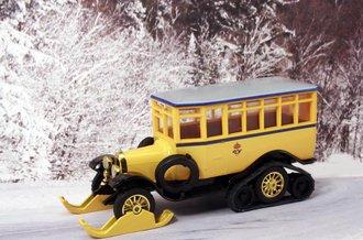 1923 Scania-Vabis Post 'Winter Operation' (Yellow)