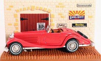 1937 Mercedes-Benz 540K w/Diorama (Red)